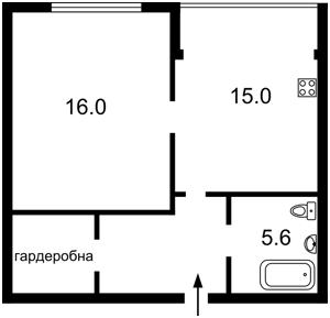 Квартира Донца Михаила, 2а, Киев, Z-525478 - Фото 2