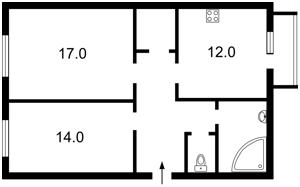 Квартира Інститутська, 22/7, Київ, Z-524911 - Фото 2