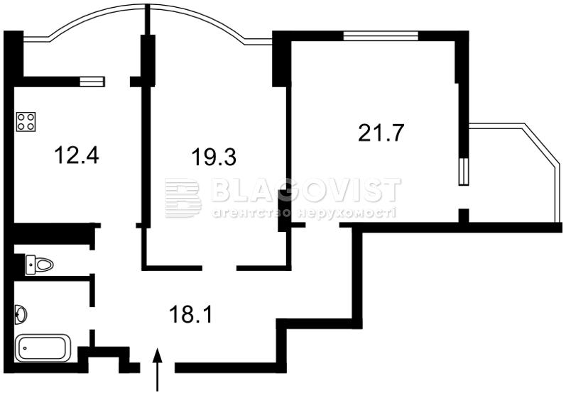 Квартира H-44228, Науки просп., 69, Киев - Фото 6