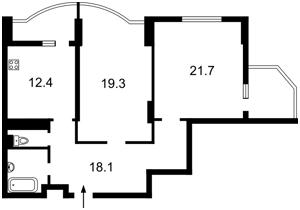 Квартира Науки просп., 69, Київ, H-44228 - Фото2