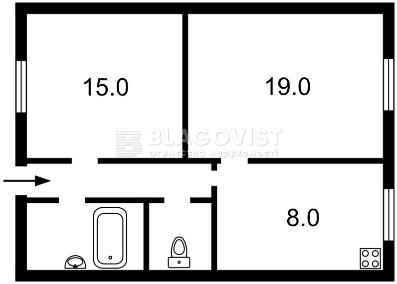 Квартира D-35001, Лютеранская, 11б, Киев - Фото 2