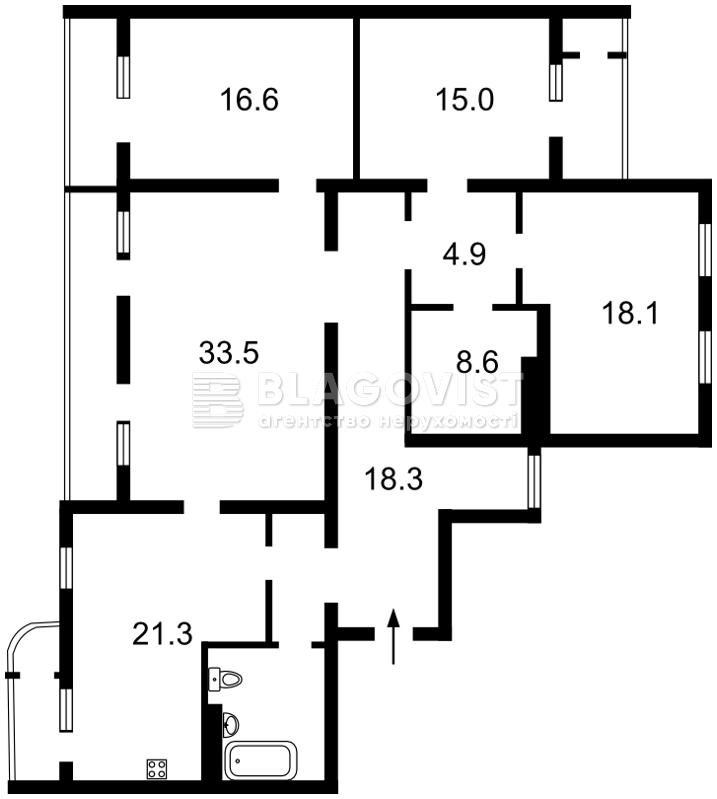 Квартира Z-459260, Довженко, 14/1, Киев - Фото 4