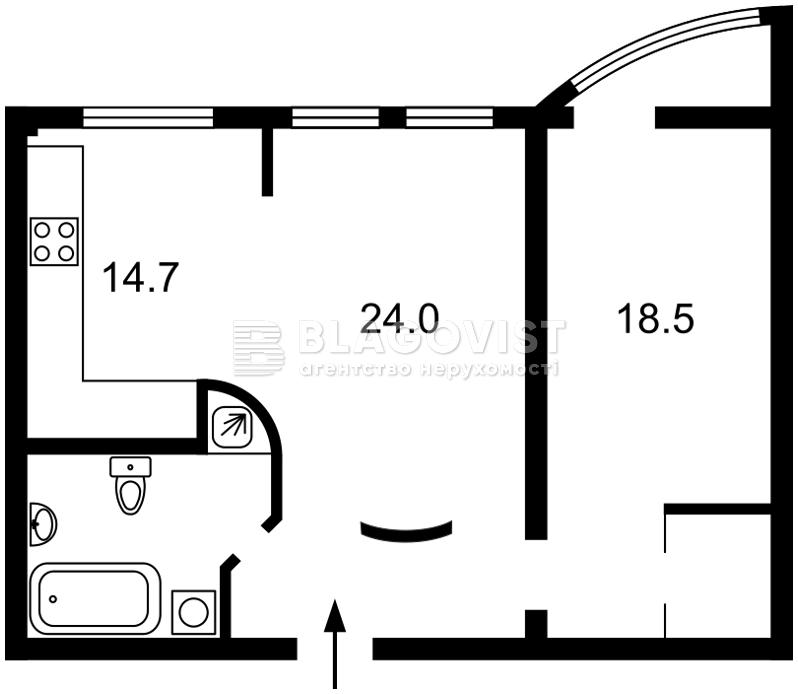Квартира C-76424, Шота Руставели, 44, Киев - Фото 4
