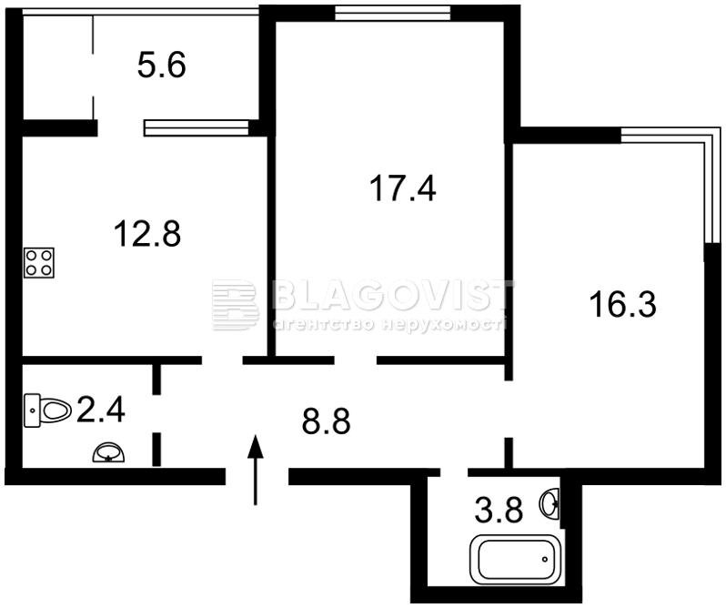 Квартира Z-514210, Ясинуватський пров., 10, Київ - Фото 4