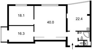 Квартира Ярославов Вал, 15а, Киев, Z-403907 - Фото2