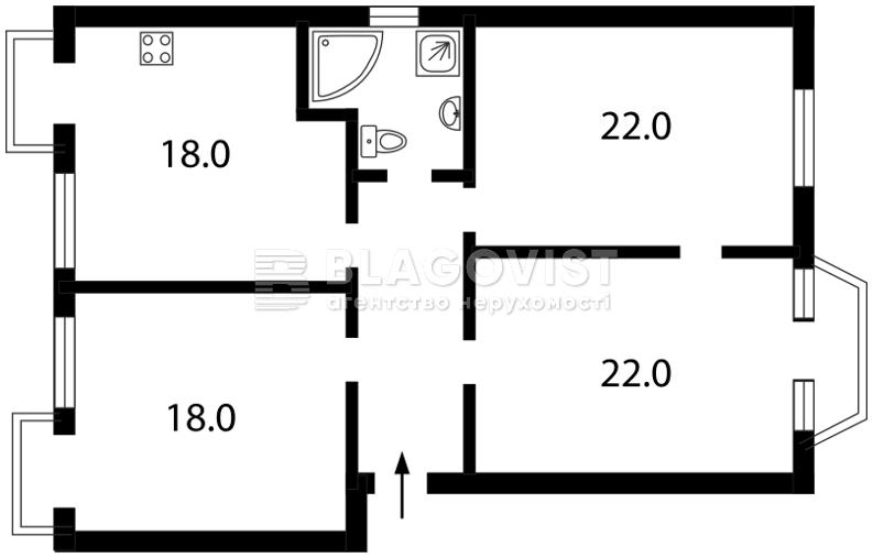 Квартира C-89573, Дарвіна, 10, Київ - Фото 4