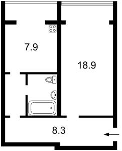 Квартира Тимошенка Маршала, 1, Київ, R-13666 - Фото2