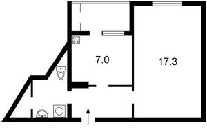 Квартира Софії Русової, 1, Київ, R-26012 - Фото 2