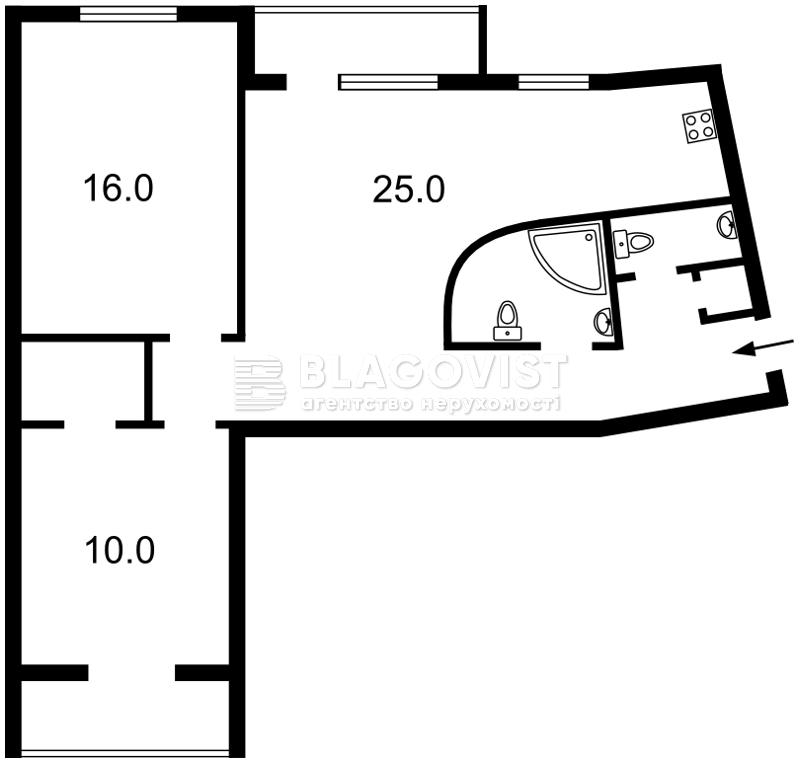 Квартира Z-504595, Кловский спуск, 12а, Киев - Фото 3