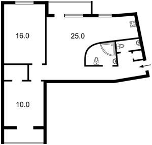 Квартира Кловский спуск, 12а, Киев, Z-504595 - Фото2