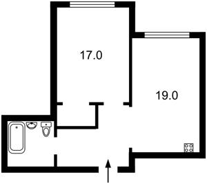 Квартира Бажана Николая просп., 1а, Киев, R-21470 - Фото2