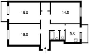 Квартира Липкивского Василия (Урицкого), 26, Киев, X-6295 - Фото 2