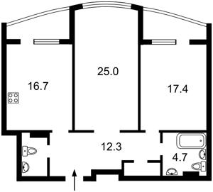 Квартира Демеевская, 13, Киев, Z-535583 - Фото2