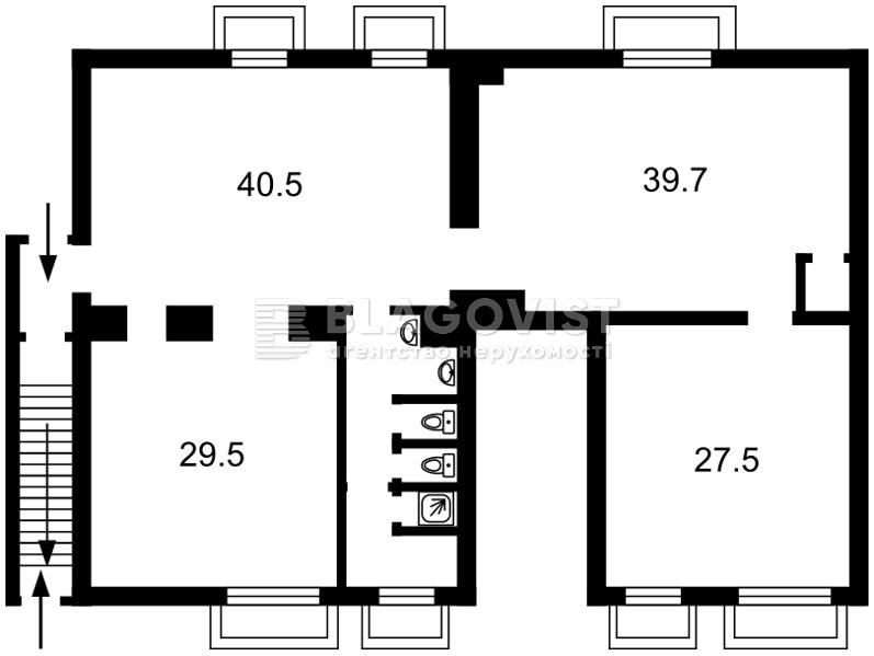 Нежилое помещение, Z-588269, Чоколовский бул., Киев - Фото 3