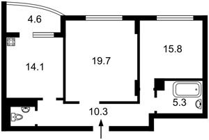 Квартира Панельная, 7, Киев, Z-532961 - Фото2