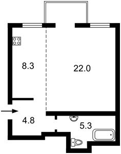 Квартира Рыльский пер., 3, Киев, R-26060 - Фото2
