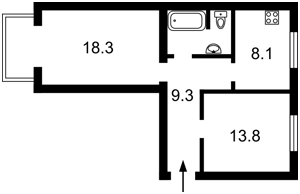 Квартира Бассейная, 23, Киев, Z-386283 - Фото 2