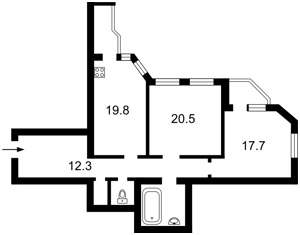 Квартира Провиантская (Тимофеевой Гали), 3, Киев, H-44366 - Фото 2