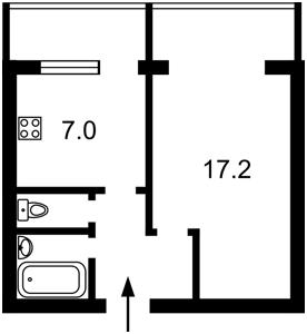 Квартира Оболонський просп., 37, Київ, C-106467 - Фото2