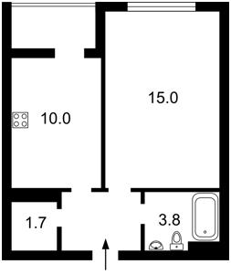 Apartment Bohatyrska, 6а, Kyiv, Z-1551527 - Photo2