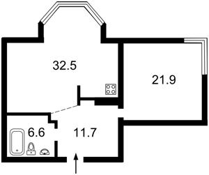 Квартира Тимошенка Маршала, 29в, Київ, Z-521696 - Фото2