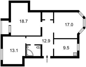 Квартира Константиновская, 34, Киев, R-26393 - Фото2