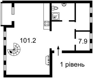 Квартира Хмельницкого Богдана, 80, Киев, D-35111 - Фото 2