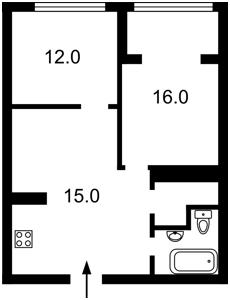 Квартира Герцена, 35а, Киев, Z-516222 - Фото2