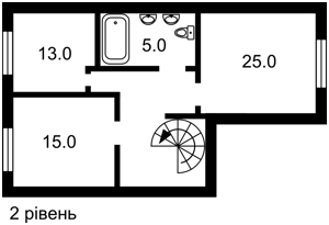 Квартира Ломоносова, 60/5, Киев, Z-362996 - Фото 3