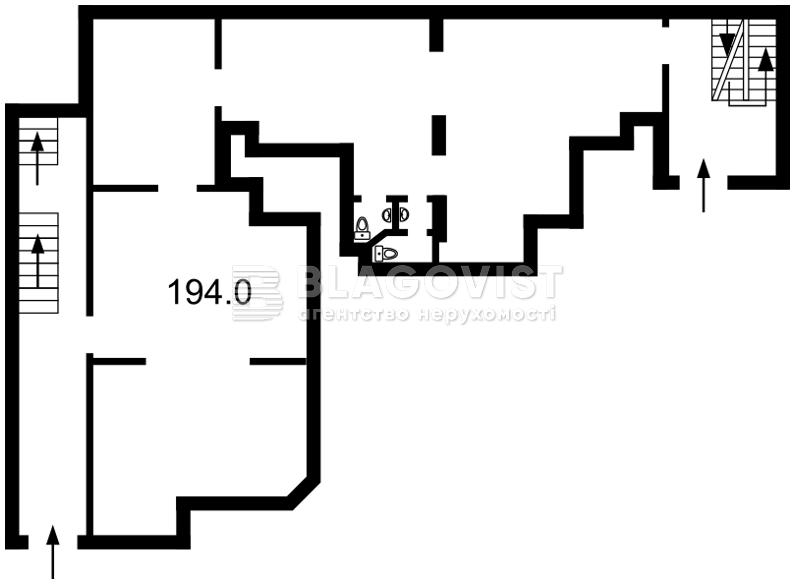 Нежитлове приміщення, F-41777, Липківського Василя (Урицького), Київ - Фото 4