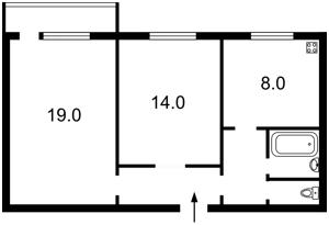 Квартира Оболонський просп., 34, Київ, Z-376002 - Фото2