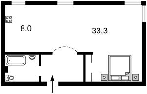 Квартира Грушевского Михаила, 28/2, Киев, C-88551 - Фото 2