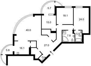 Квартира Лесі Українки бул., 7б, Київ, Z-538067 - Фото2