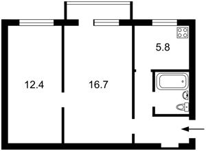 Квартира Арсенальний пров., 5, Київ, Z-540717 - Фото2