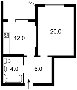 Квартира Воскресенська, 16в, Київ, R-26188 - Фото2