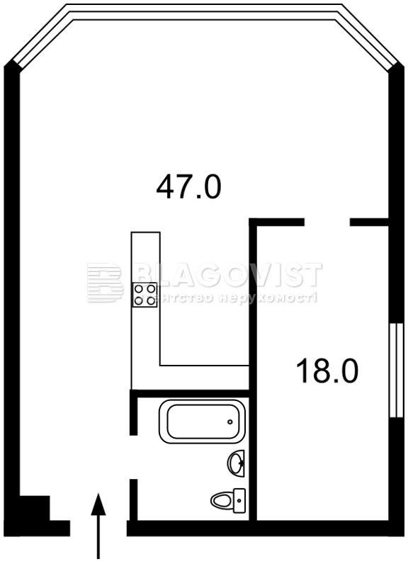 Квартира D-35125, Болсуновская (Струтинского Сергея), 2, Киев - Фото 5