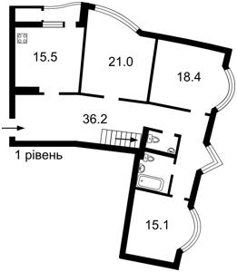 Квартира Урловская, 11а, Киев, Z-497046 - Фото2