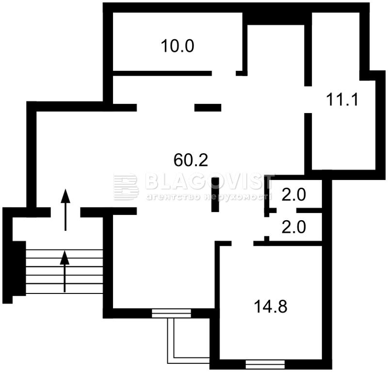 Нежилое помещение, Калнишевского Петра (Майорова М.), Киев, R-26316 - Фото 2