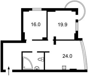 Квартира Кольцова бульв., 14з, Киев, Z-835610 - Фото2