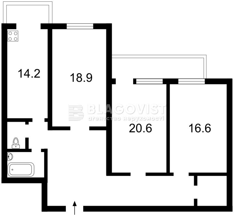 Квартира H-44484, Пушкинская, 23, Киев - Фото 2