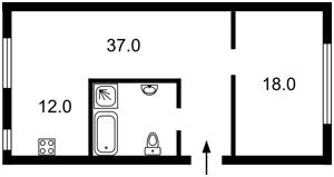 Квартира Прорезная (Центр), 9, Киев, D-35188 - Фото2