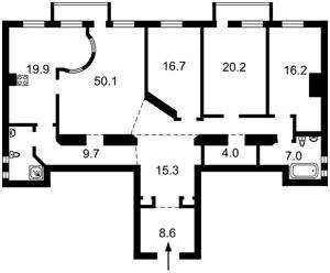 Квартира Большая Васильковская, 26, Киев, R-26695 - Фото2