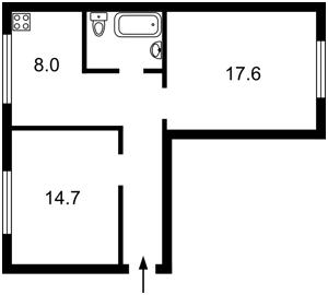Квартира Кловський узвіз, 4, Київ, Z-544564 - Фото2