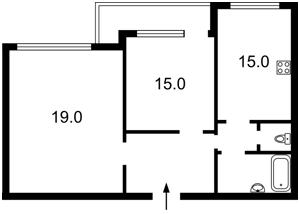 Квартира Святошинская пл., 1, Киев, Z-1738607 - Фото2