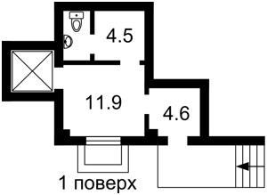 Нежитлове приміщення, Деревлянська (Якіра), Київ, H-44566 - Фото 2