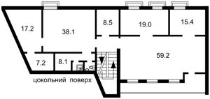 Отдельно стоящее здание, Сагайдачного Петра, Киев, H-44634 - Фото2