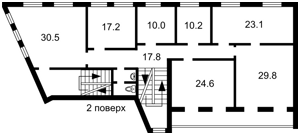 Отдельно стоящее здание, Сагайдачного Петра, Киев, H-44634 - Фото 4