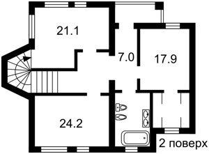 Дом Нижняя Дубечня, M-35335 - Фото 3