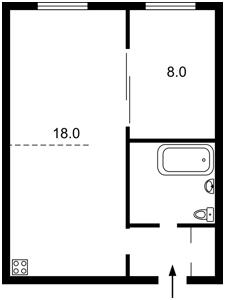 Квартира Соборности просп. (Воссоединения), 17 корпус 2, Киев, D-35162 - Фото2