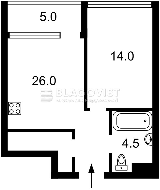 Квартира E-38567, Предславинська, 53, Київ - Фото 4